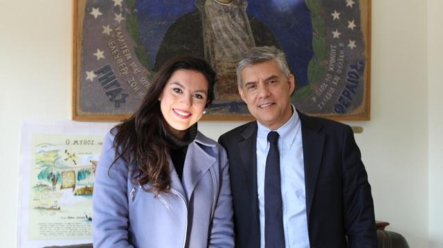 Υποψήφια με τον Κ. Αγοραστό στη Μαγνησία η Όλγα Τσιαμήτα