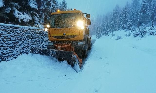 Κοντά στο 1 μέτρο φτάνει το χιόνι στο Στεφάνι Τρικάλων