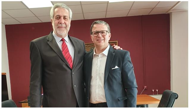 Υποψήφιος με τον Δημήτρη Εσερίδη ο Κώστας Πανταζώνας
