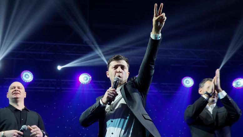 Ενας κωμικός φαβορί για την προεδρία στην Ουκρανία