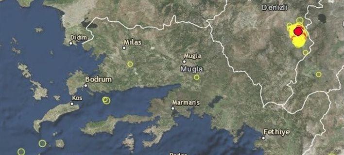 Σεισμός 4,9 Ρίχτερ στην Τουρκία - Κουνήθηκαν & στα Δωδεκάνησα