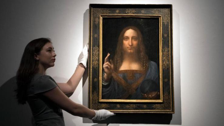 «Εξαφανίστηκε» από το Λούβρο του Άμπου Ντάμπι ο πίνακας Salvador Mundi του Λεονάρντο Ντα Βίντσι