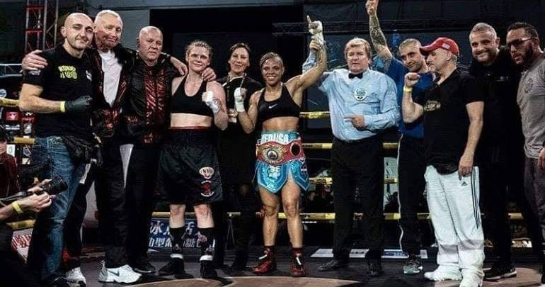 Tέταρτη στον κόσμο στην επαγγελματική πυγμαχία η Λιναρδάτου