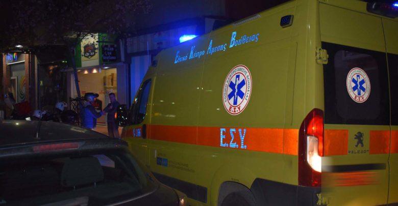 Παράσυρση άντρα στην οδό Βόλου στη Λάρισα