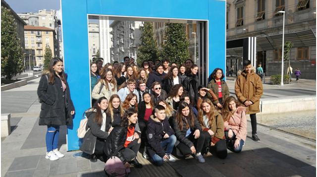 Μαθητές του Γυμνασίου Στεφανοβικείου στην Ιταλία με πρόγραμμα Erasmus+