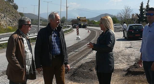 Προχωρούν οι εργασίες συντήρησης της εθνικής οδού Βόλου -Λάρισας