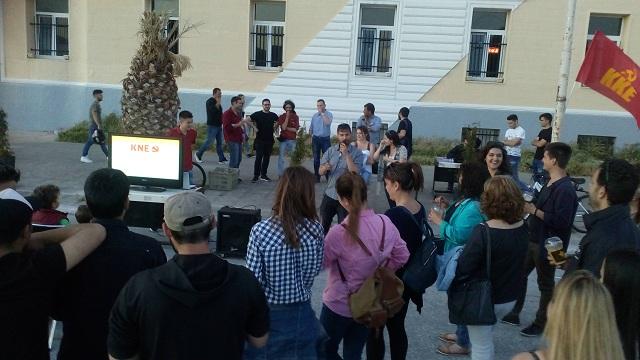Εκδηλώσεις της ΚΝΕ σε Λάρισα – Βόλο