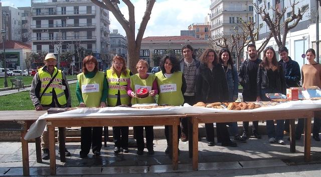 Φοιτητές της Αρχιτεκτονικής έστρωσαν τραπέζι με την Κουζίνα Αλληλεγγύης Βόλου
