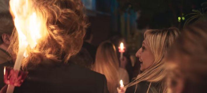 Eπική διαφήμιση Jumbo για το Πάσχα: Πήρε φωτιά το μαλλί του Πέτρου Γαϊτάνου!