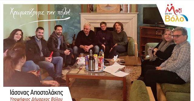 Επίσκεψη Ι. Αποστολάκη στο ΚΕΘΕΑ ΠΙΛΟΤΟΣ