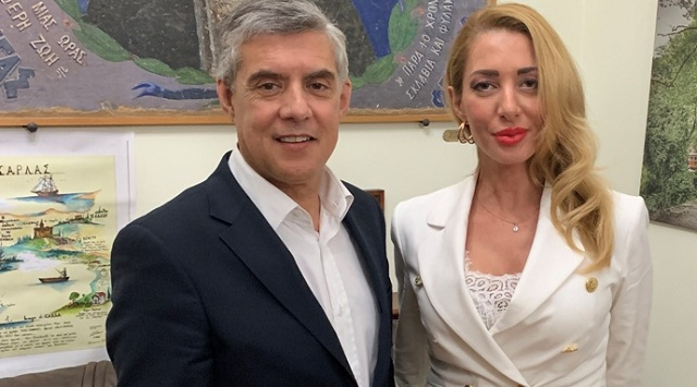 Υποψήφια με τον Κώστα Αγοραστό στη Μαγνησία η Ελένη Καραγιάννη