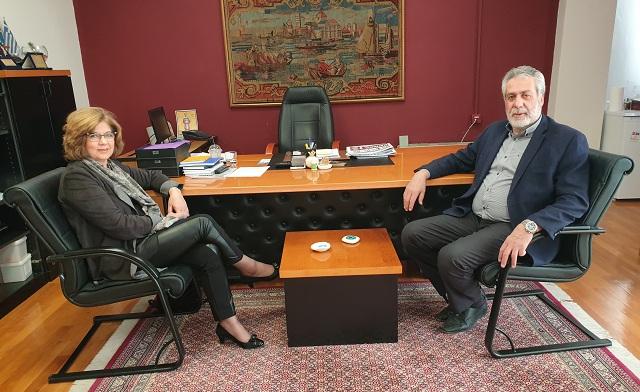 Υποψήφια με τον Δημήτρη Εσερίδη η Πόπη Κουρκούμπα