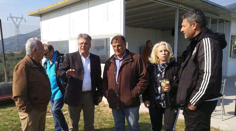 Επίσκεψη Παπαδούλη στην Αλλη Μεριά για Ολυμπιακό