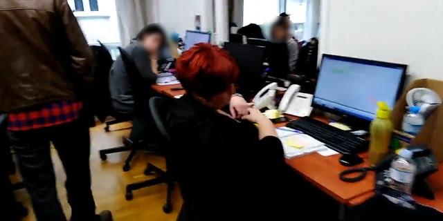 Ντου του Ρουβίκωνα σε δικηγορικό γραφείο στην Αθήνα