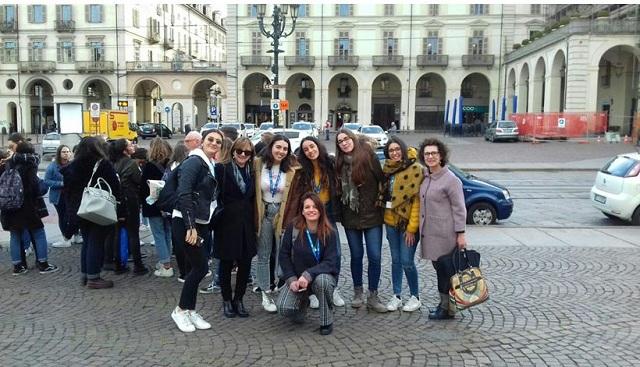Οι μαθητές του 1ου ΓΕΛ Βόλου ταξίδεψαν στο Τορίνο για το μεταναστευτικό