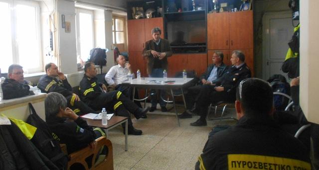Χρόνια η καθυστέρηση για επίλυση του στεγαστικού προβλήματος της Πυροσβεστικής