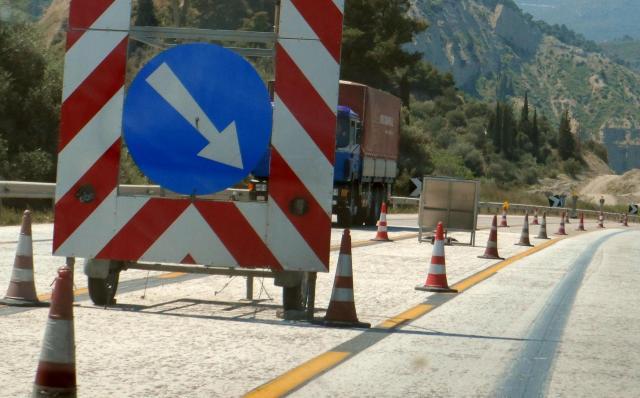 Διακοπή κυκλοφορίας στο τμήμα Αντίρριο – Γαβρολίμνη