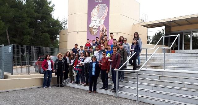 Στο Διαχρονικό Μουσείο Λάρισας μαθητές του 6ου Γυμνασίου Βόλου