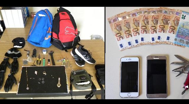 Συλλήψεις δύο αλλοδαπών στο κέντρο του Βόλου για κλοπές και διαρρήξεις