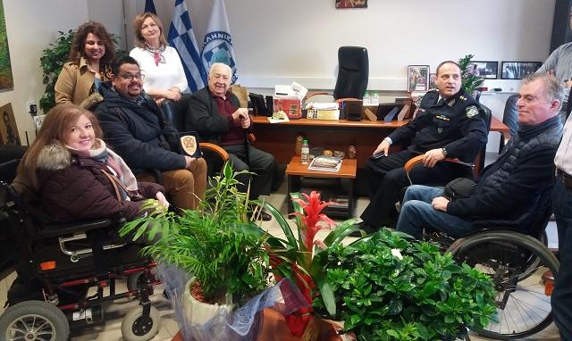 Ευχές από τον ΙΠΠΟΚΑΜΠΟ στον νέο Διευθυντή Αστυνομίας Μαγνησίας