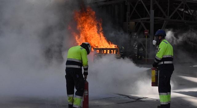 Μεγάλη άσκηση της Πυροσβεστικής στην ΑΓΕΤ