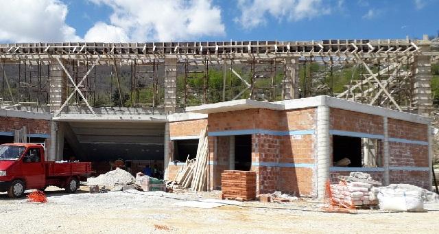 Προχωρά η κατασκευή του κλειστού γυμναστηρίου Ζαγοράς