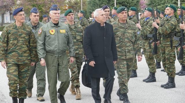 Την 1η Στρατιά επισκέπτεται ο υπουργός Εθνικής Άμυνας [εικόνες]