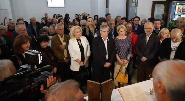 Εγκαινιάστηκε το εκλογικό κέντρο του Αποστόλη Παπαδούλη