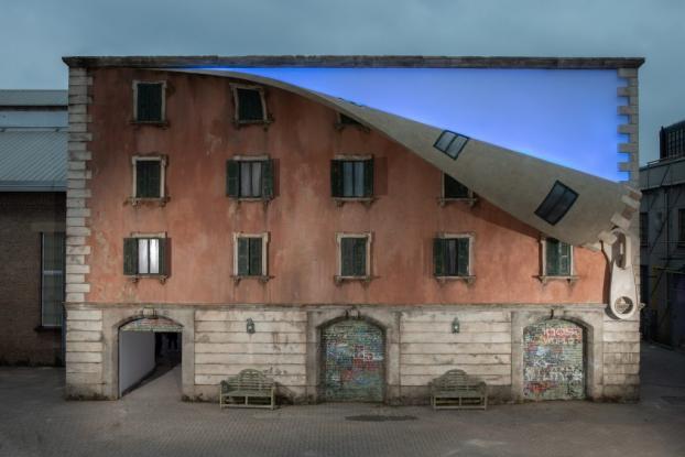 Μιλάνο: Αστική καλλιτεχνική παρέμβαση με κτήρια που …ξεγυμνώνονται