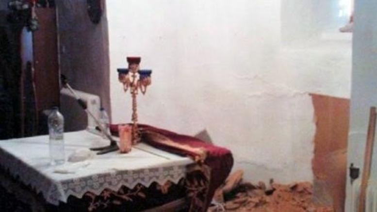Έσκαψαν για θησαυρό μέσα στο ιερό Ναού