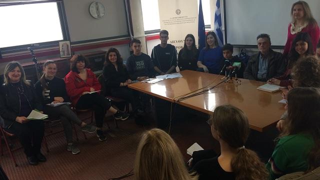 Οι μαθητές μιλούν για τον Ανθ. Γαζή