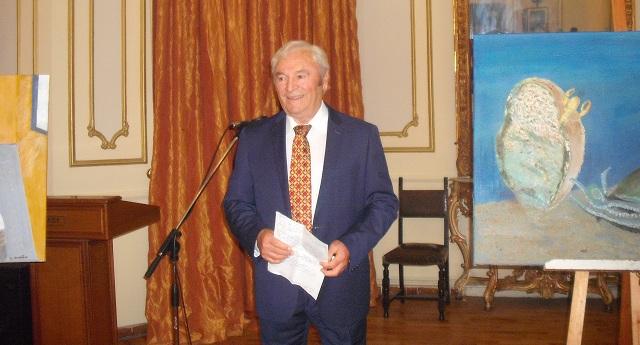 Ο κορυφαίος προπονητής Στάθης Τοπαλίδης παρουσιάζει το ζωγραφικό του έργο στην Ελασσόνα