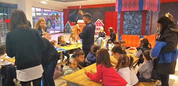 Κάθε μέρα παιδική γιορτή στο Fashion City Outlet!!!