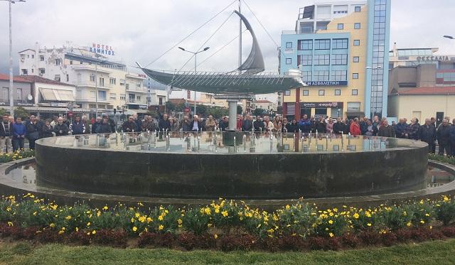 Στην κυκλοφορία ο κυκλικός κόμβος στο Δημαρχείο [photos]