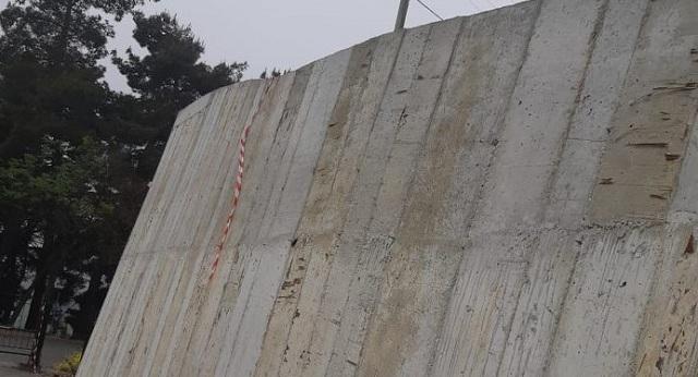 Κατασκευή τοιχίου αντιστήριξης στο πάρκινγκ της Μακρινίτσας
