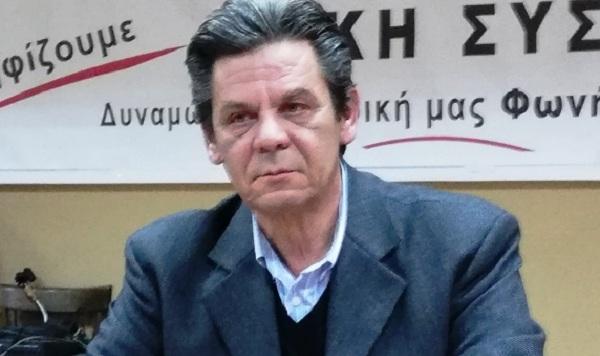 Ριζόπουλος: «Πίσω από τη λάμψη των φωτεινών κόμβων κρύβεται η επικίνδυνη εγκατάλειψη»