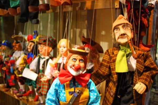 Παιδική παράσταση με μαριονέτες