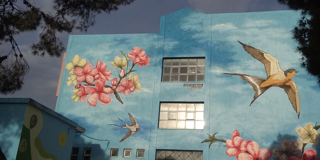 Urban Act: Δίνουν χρώμα στα καμένα της Αττικής
