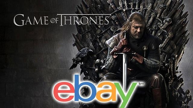 eBay: Πάνω από 16 εκατ. ξόδεψαν οι fans του Game of Thrones για προϊόντα