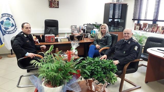 Επίσκεψη Κολυνδρίνη στην Αστυνομική Διεύθυνση Μαγνησίας