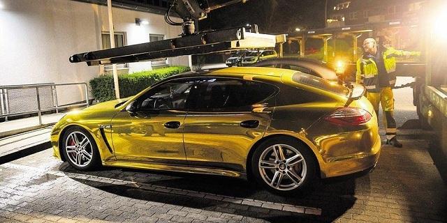 Κατάσχεση αυτοκινήτου για… επικίνδυνο χρώμα