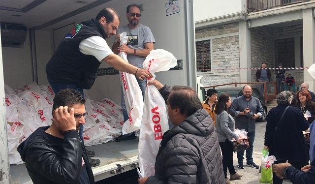 Πασχαλινό τραπέζι σε 700 οικογένειες στρώνει η ΕΒΟΛ