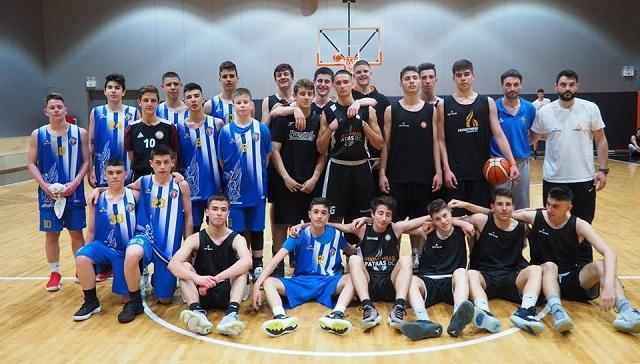 Το τριήμερο της ακαδημίας μπάσκετ της Νίκης Βόλου στην Πάτρα