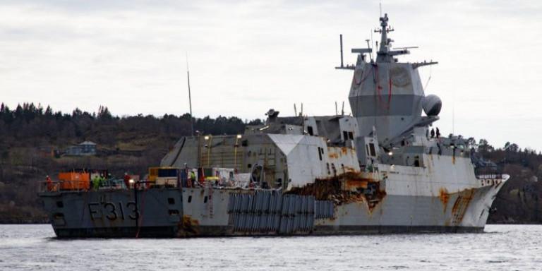 Βγήκε στην επιφάνεια η νορβηγική φρεγάτα που είχε βυθιστεί από ελληνόκτητο τάνκερ [εικόνες]