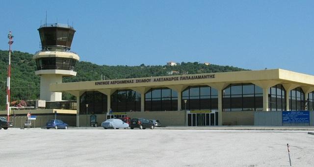Αρχίζουν οι πτήσεις εξωτερικού στο αεροδρόμιο της Σκιάθου