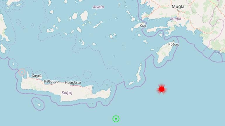 Σεισμός 4,9R στην Κάρπαθο