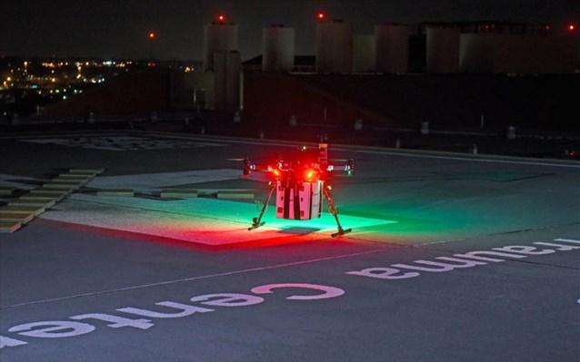Πρώτη μεταμόσχευση οργάνου που παραδόθηκε με drone