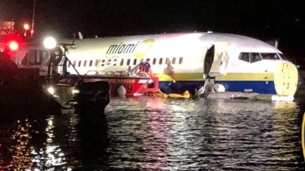 Προσγείωση τρόμου για 136 επιβάτες - Κατέληξαν σε ποτάμι