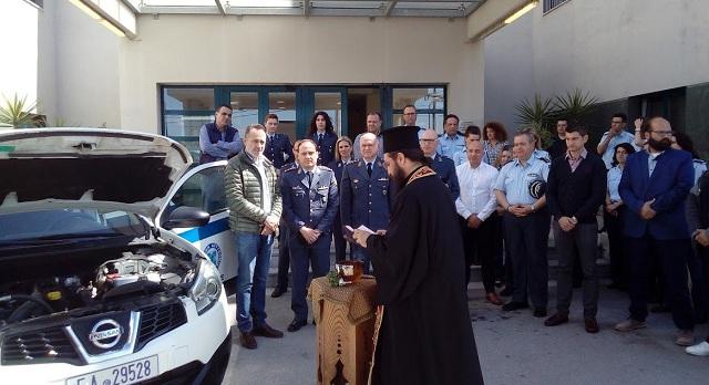 Δωρεά αυτοκινήτου στην Αστυνομία από την Ιντερκάτ ATEBE