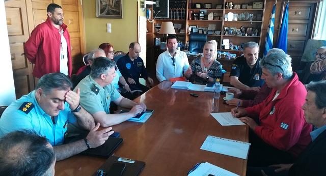 Ετοιμότητα παρά τις ελλείψεις στη Μαγνησία για τις πυρκαγιές